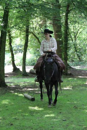 Ranch Trail, Ziehen: Natalie Müller und Docs Royal Gold